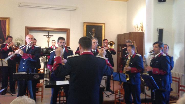 Actuación de Banda Municipal de música actua en FSVSC